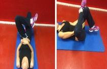 La gymnastique à la hernie des disques du service cervical