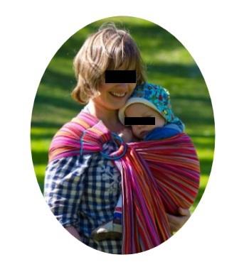 Inconvénients  usage limité à un portage sur la hanche et en position  allaitement portage asymétrique de courte durée. L anneau peut gêner l  enfant et le ... 8bec14f5943